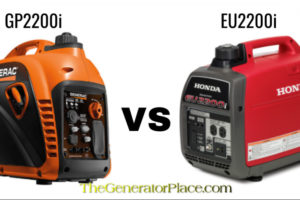 Generac GP2200i vs Honda EU2200i