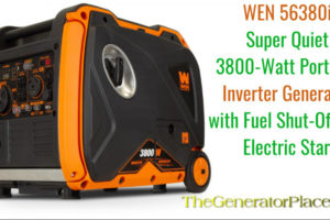 WEN 56380i Portable Inverter Generator Review