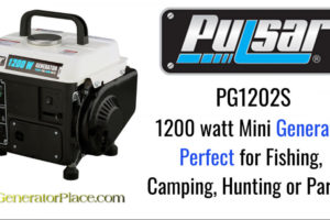 Pulsar 1200 Gas-Powered Portable Generator Review