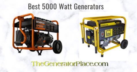 Best 5000 Watt Generator